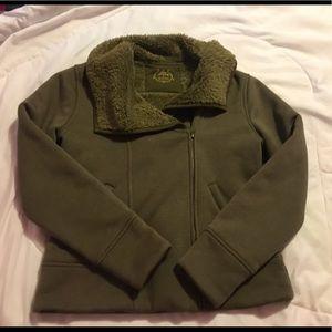 Prana jacket, hunter green size medium